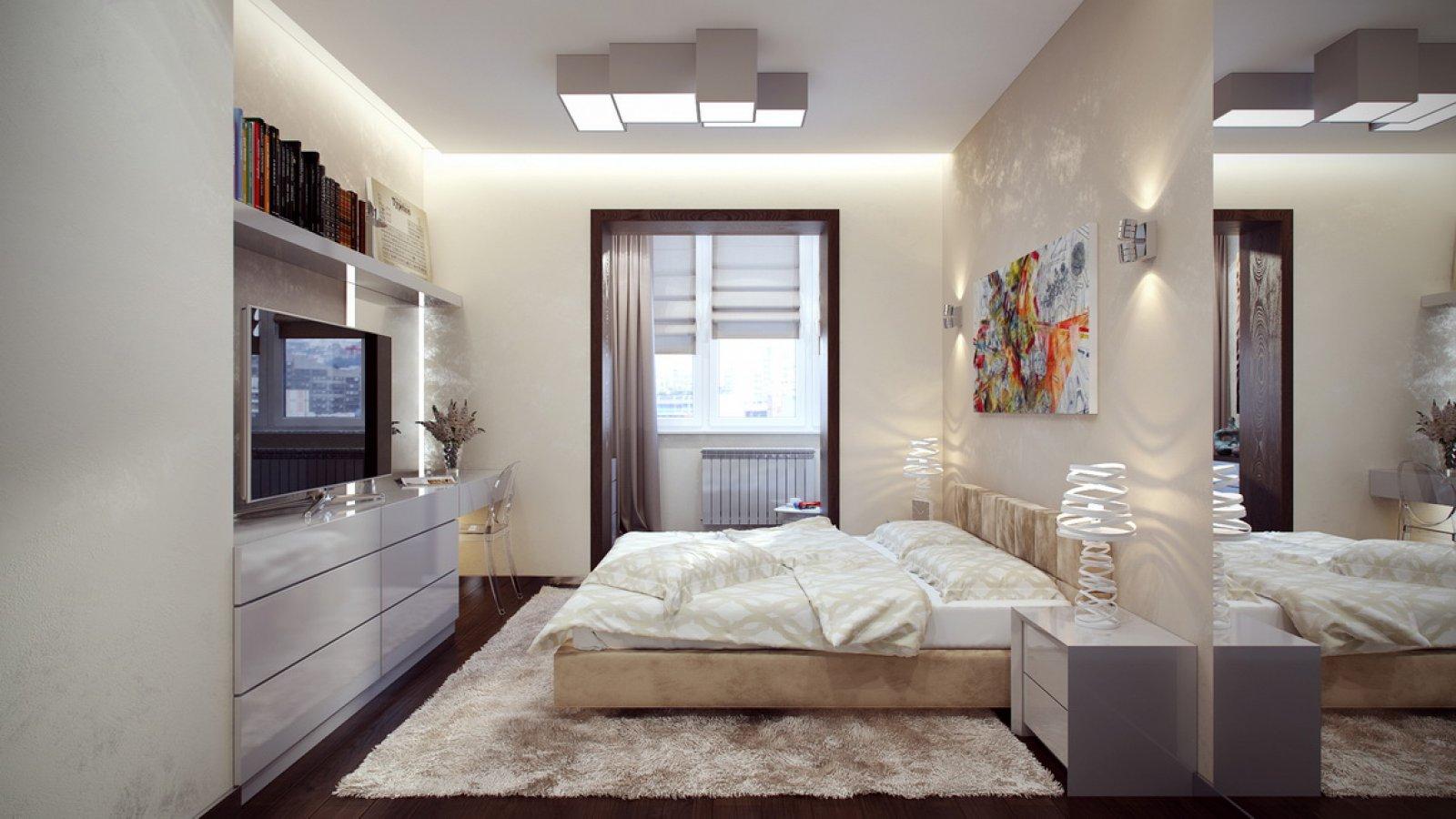 Дизайн спален 13 кв м фото
